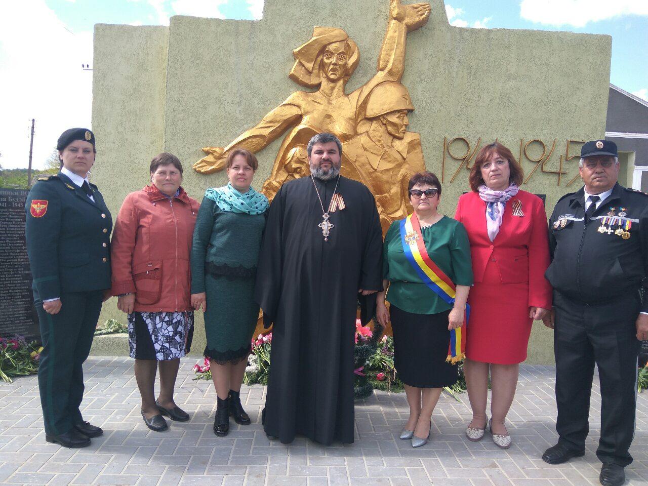 (ФОТО) В селе Будэй отслужили литию и освятили мемориальную доску