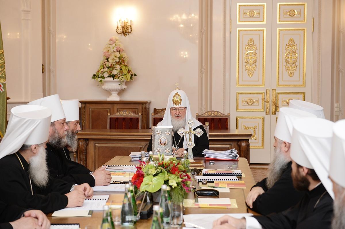(ВИДЕО) Заявление Священного Синода РПЦ в связи с распространением коронавирусной инфекции