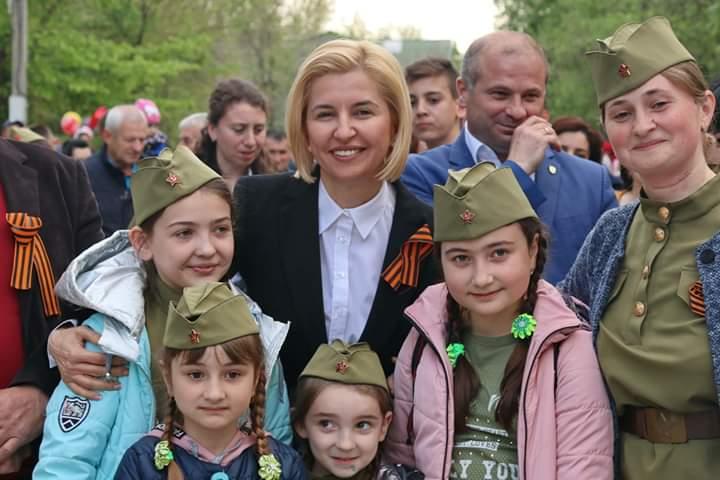 В День Победы учавствовала Воскресная школа Казанского храма