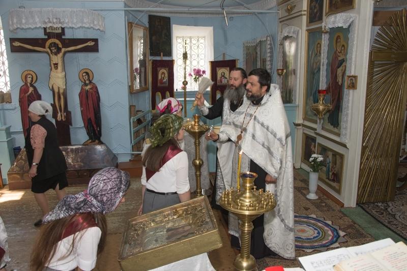 (ФОТО) В храме села Копчак состоялся молебен перед началом экзаменов