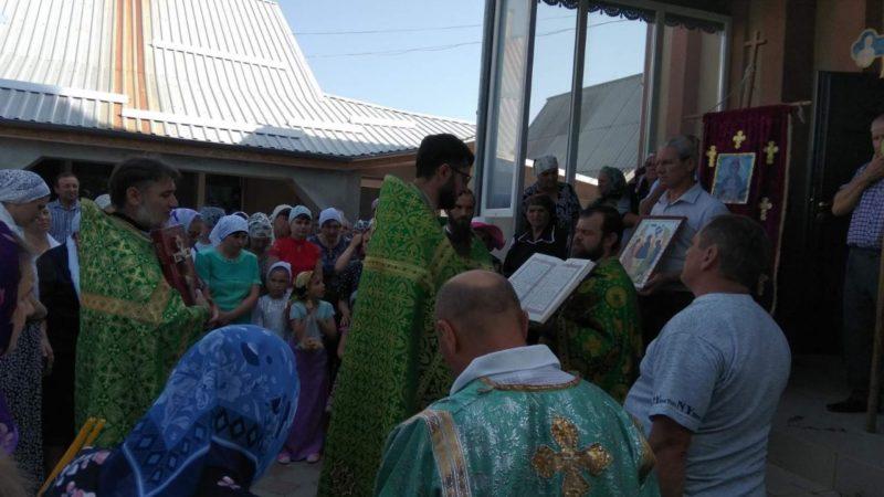 (ФОТО/ВИДЕО) Троицкий храм в селе Дезгинжа отметил престольный праздник