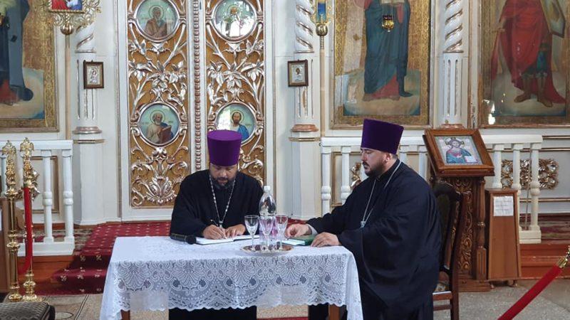 (ФОТО) 27 июня состоялось епархиальное собрание в Кагуле