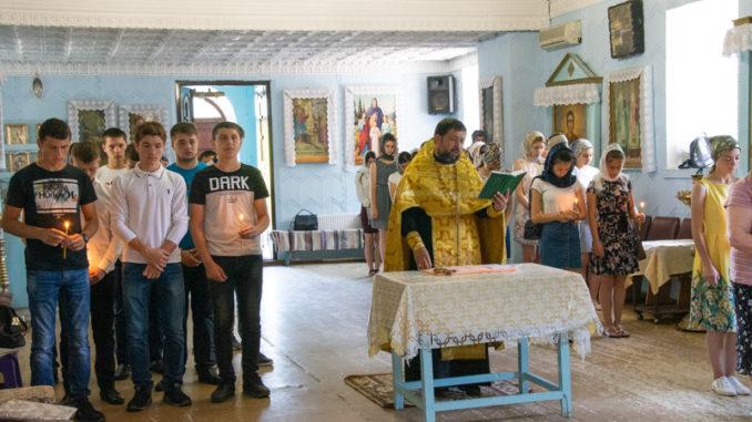 (ФОТО) В Успенском храме села Копчак состоялся благодарственный молебен по окончании экзаменов