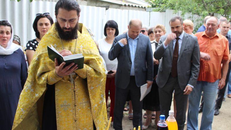 (ВИДЕО) В Чадыр-Лунге освятили пункт семейных врачей