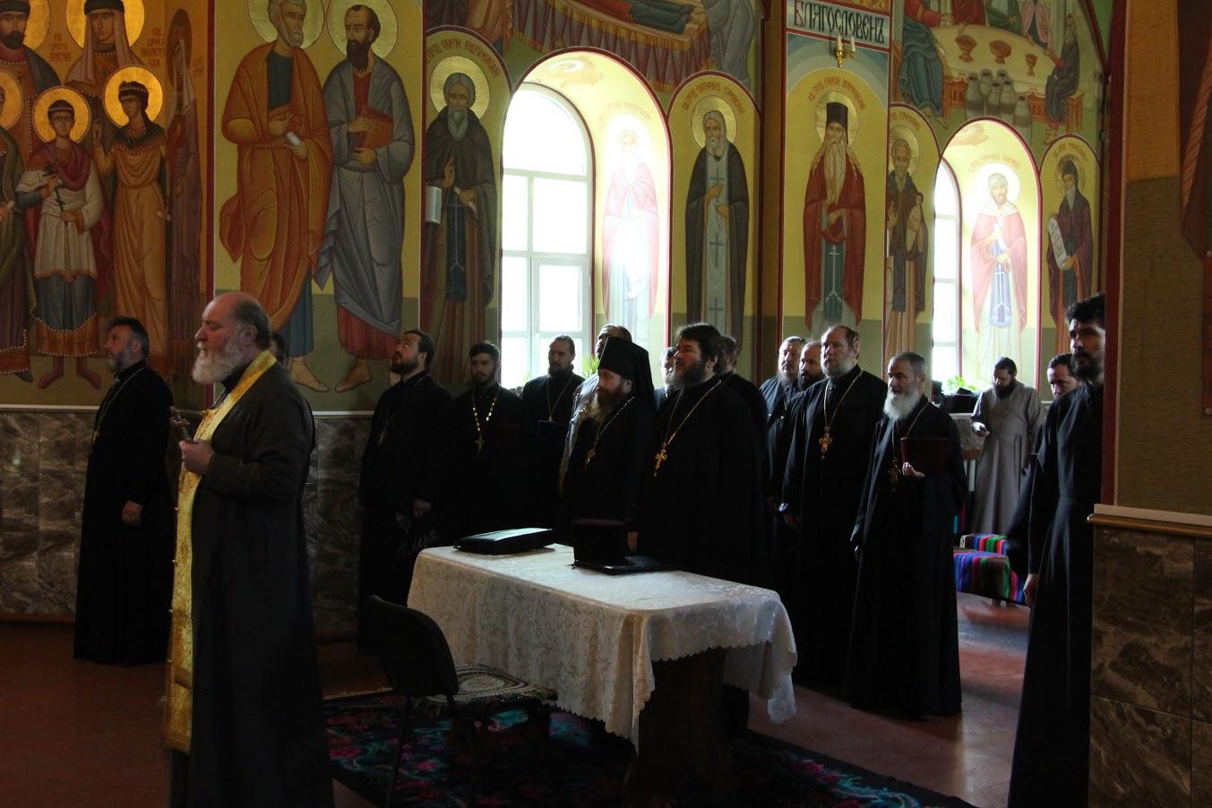 25 июня состоялось собрание духовенства Комратского благочиния