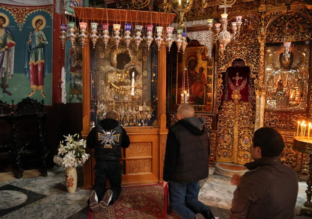В древнем Афонском монастыре Иверон ограблена чудотворная Иверская икона