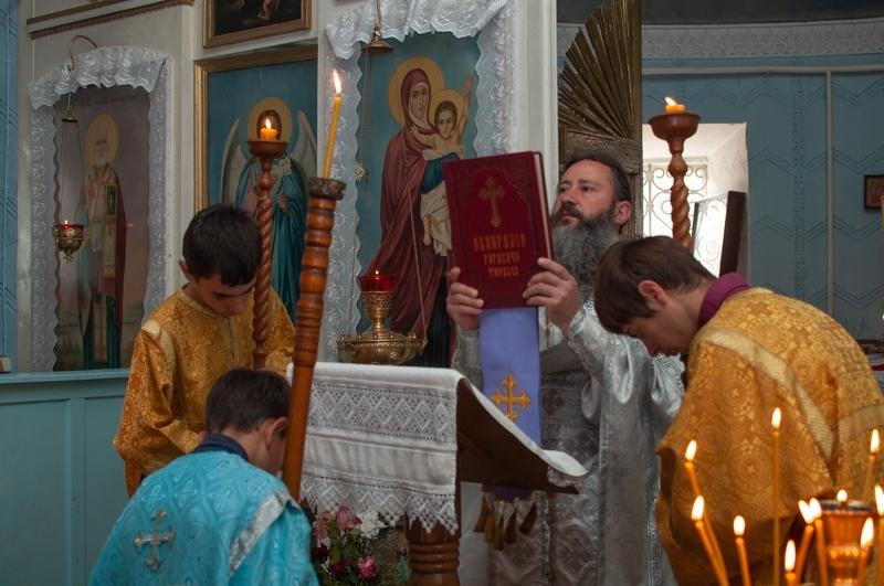 (ФОТО) Проповедь на Воздвижение Креста Господня. Прот. Феодор Каракальчев