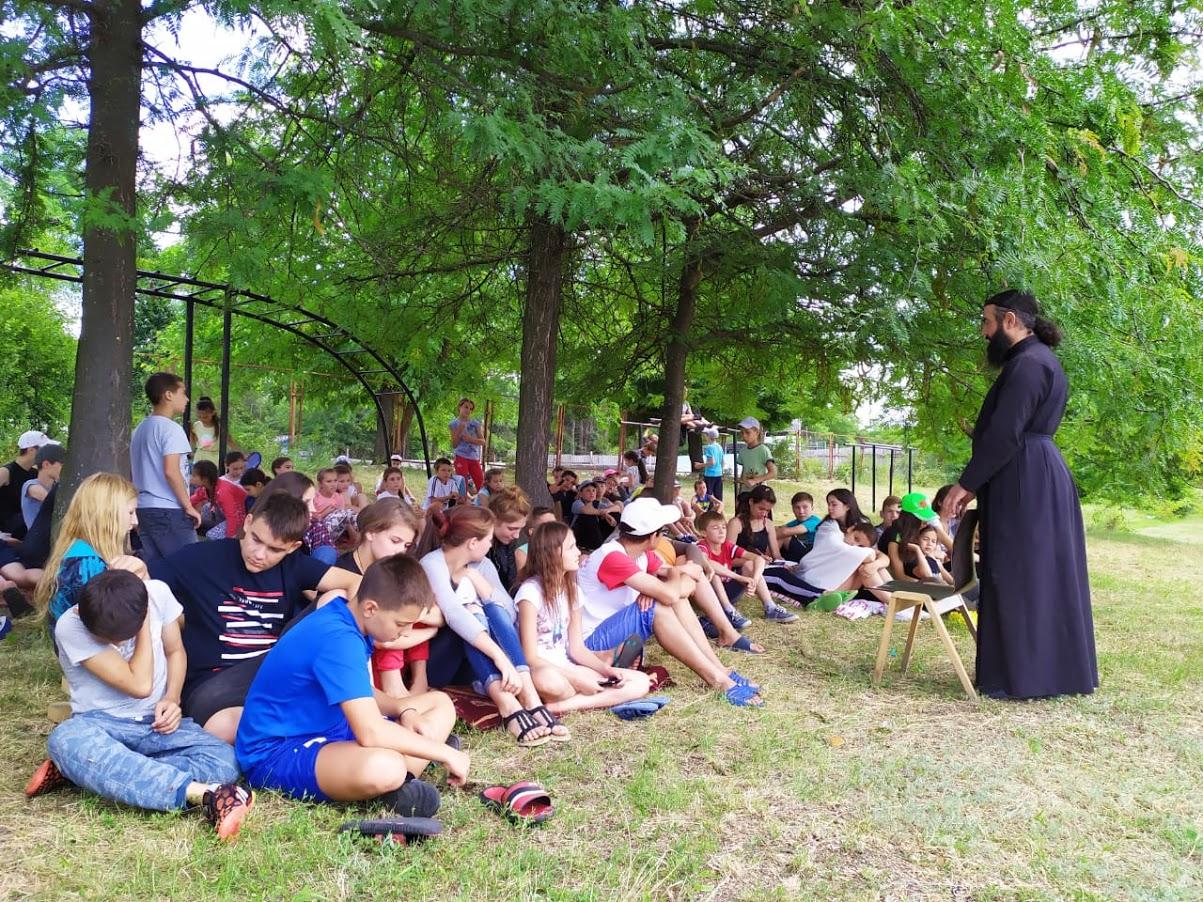 (ФОТО) Как прошел четвертый день в православном лагере