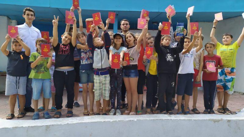 (ФОТО) Встреча с отдыхающими лагеря «Олимпиец»  мун. Комрат