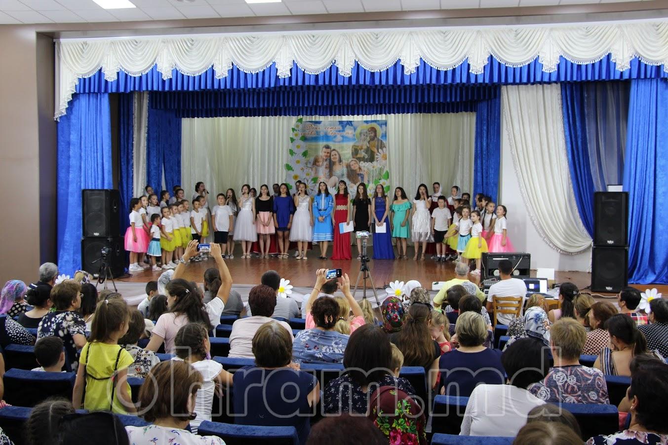 (ФОТО/ВИДЕО) В селе Чишмикиой отметили концертом День семьи, любви и верности