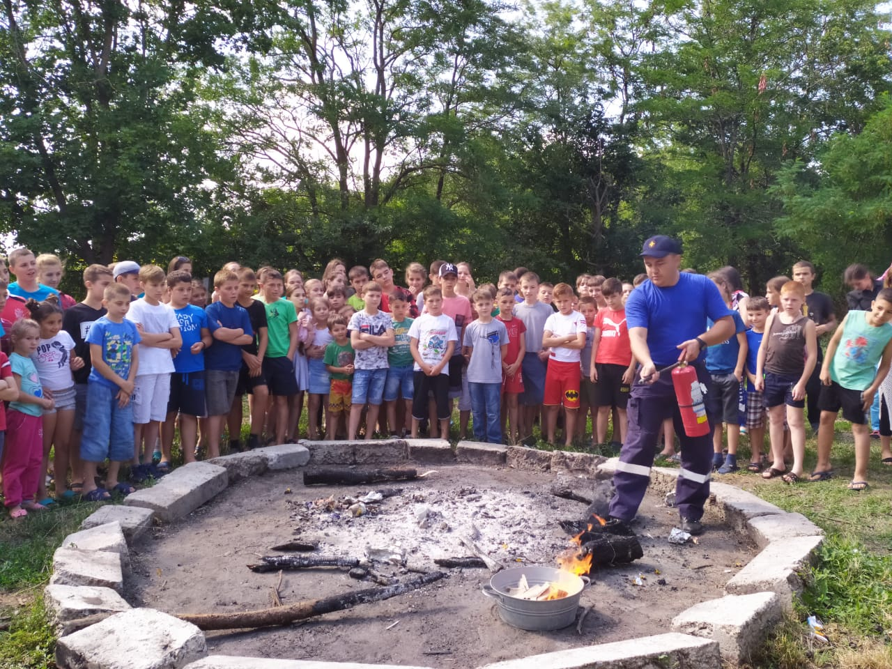 (ФОТО) Как прошел второй день в православном лагере