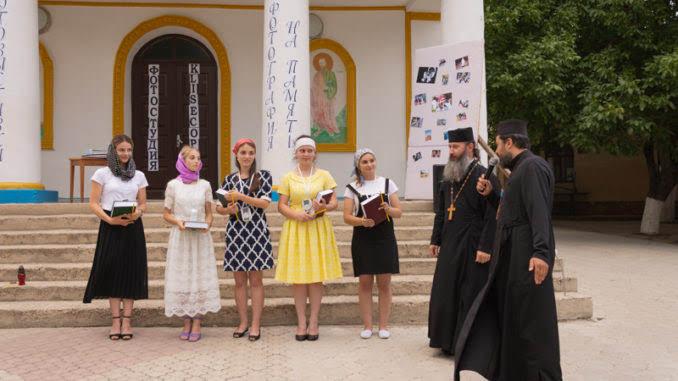 (ФОТО) Выпускной в церковной школе села Копчак