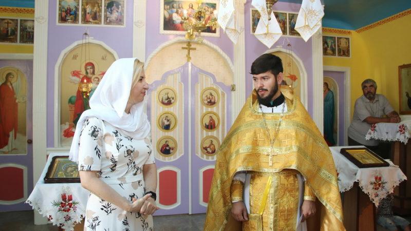 (ФОТО) Жители сел Котовское и Бешгиоз отмечают храмовый праздник