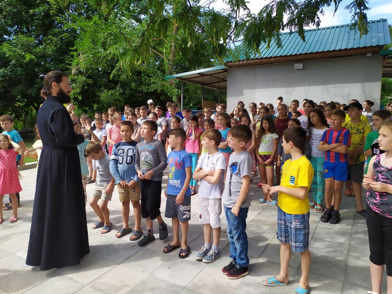 (АНОНС) Закрытие смены православного лагеря состоится 14 июля
