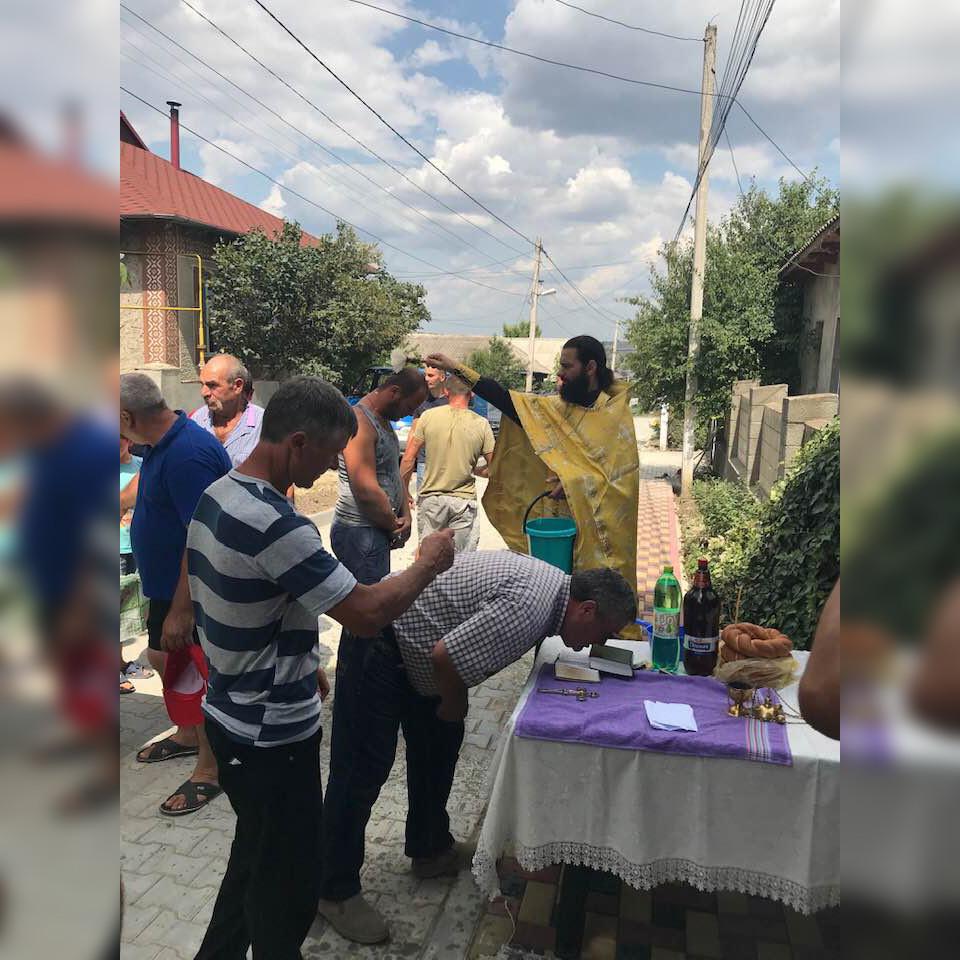 (ФОТО) В Чадыр-Лунге освятили улицу Чайковского