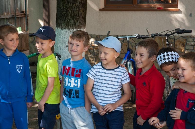 Фоторепортаж православного лагеря в селе Копчак