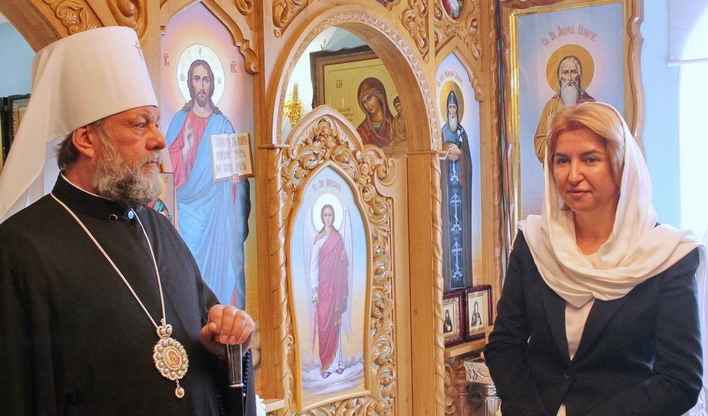 Митрополит Кишиневский и всея Молдовы Владимир поздравил новоизбранного Башкана Ирину Влах с «безукоризненной победой»