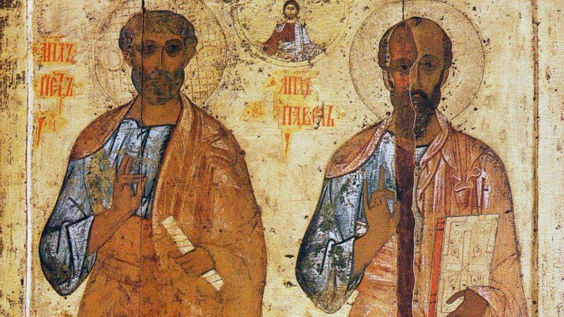 (ВИДЕО) Церковь вспоминает память Святых апостолов Петра и Павла