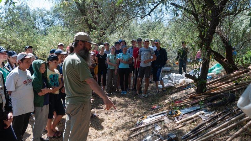 (ФОТО) В селе Копчак прошел скаутский лагерь