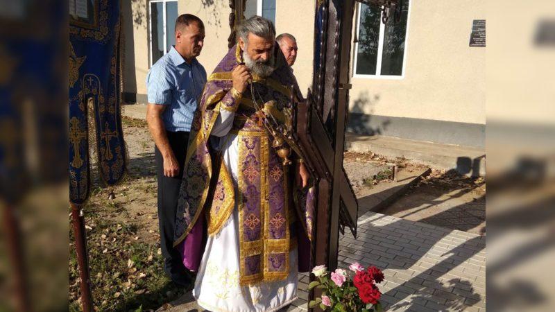 (ФОТО) В селе Джолтай освятили крест на месте храма в честь св. муч.  Харалампия