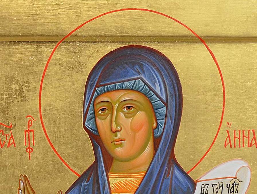 (ВИДЕО) Церковь вспоминает успение праведной Анны