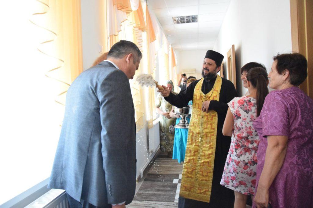 (ФОТО) В Копчаке освятили «Центр спокойной старости»