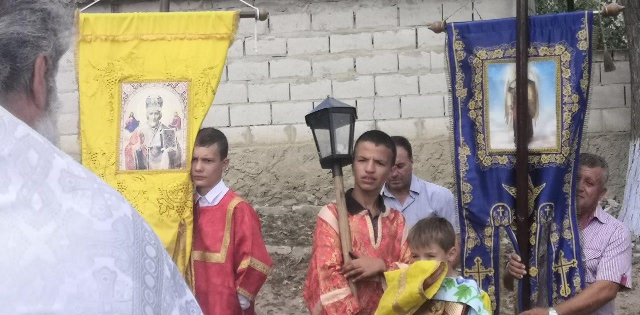 (ФОТО/ВИДЕО) В селе Джолтай прошел миссионерский крестный ход