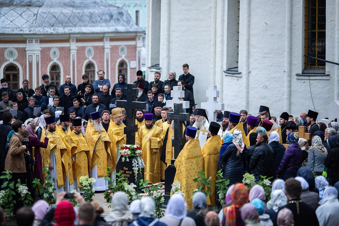 В МДА и Троице-Сергиевой Лавре отметили день 10-й годовщины кончины архимандрита Матфея (Мормыля)
