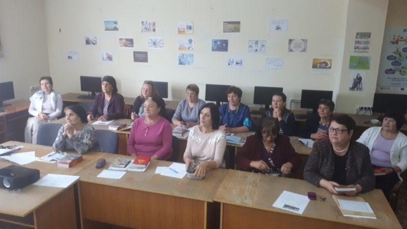 (ФОТО) Состоялся семинар директоров библиотек Чадыр-Лунгского района