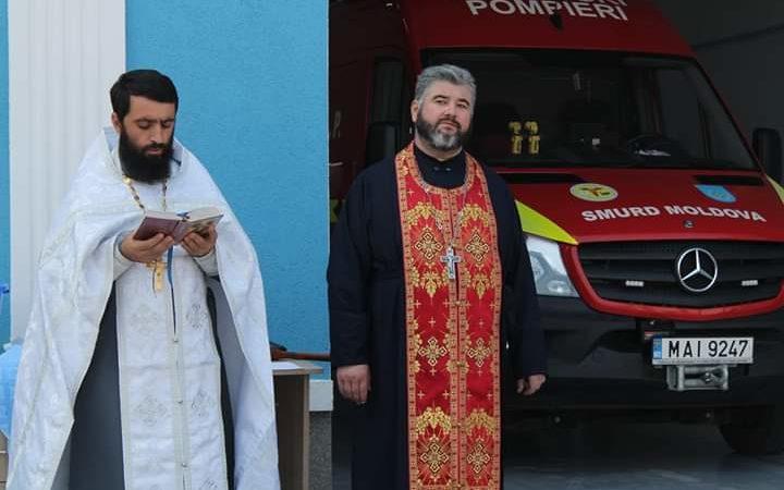 (ФОТО) Освящение Главного инспектората по чрезвычайным ситуациям г.Тараклия