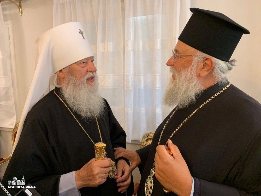 Митрополит Керкирский: Мы признаем только одну каноническую Церковь – УПЦ