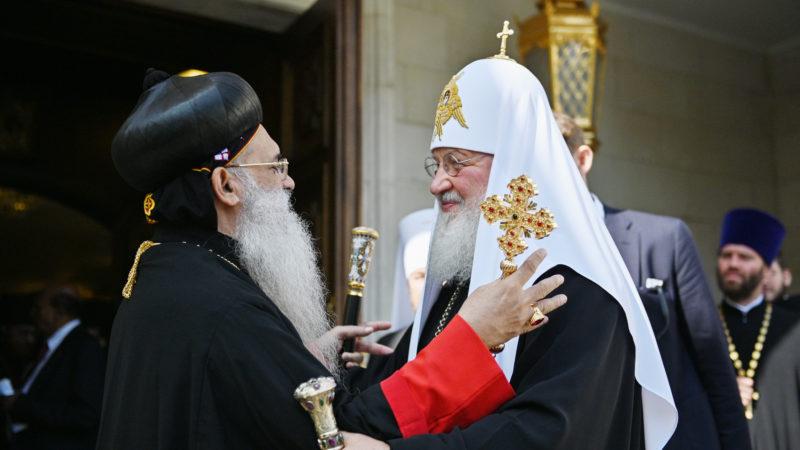 (Видео) Святейший Патриарх Кирилл встретился с Предстоятелем Маланкарской Церкви