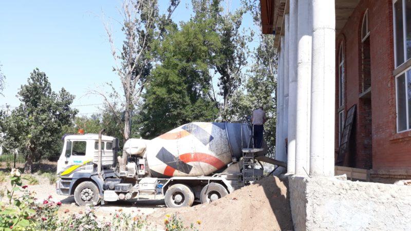 (ФОТО) В Свято-Покровском храме г. Вулканешты продолжаются строительные работы