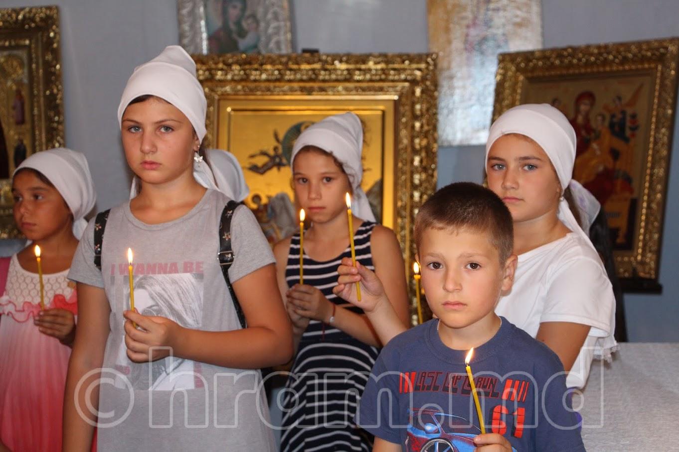 В храме с. Чишмикиой состоялся молебен перед началом учебного года