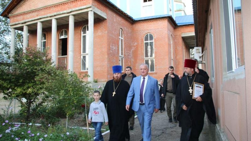 (ФОТО/ВИДЕО) Храм Вулканешт получит в дар от России церковную утварь