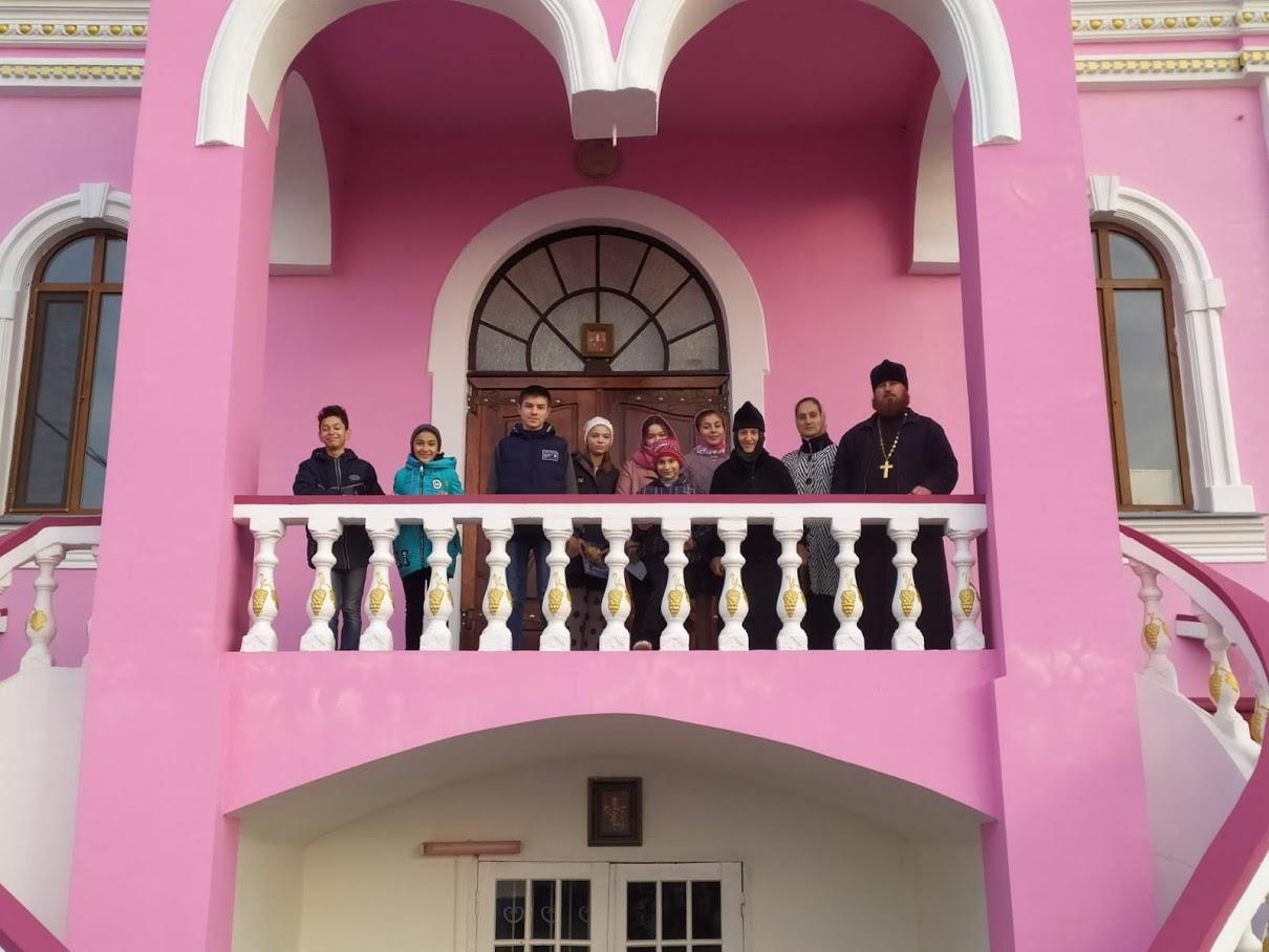 (ФОТО) Дети воскресной школы при храме г. Вулканешты совершили паломническую поездку