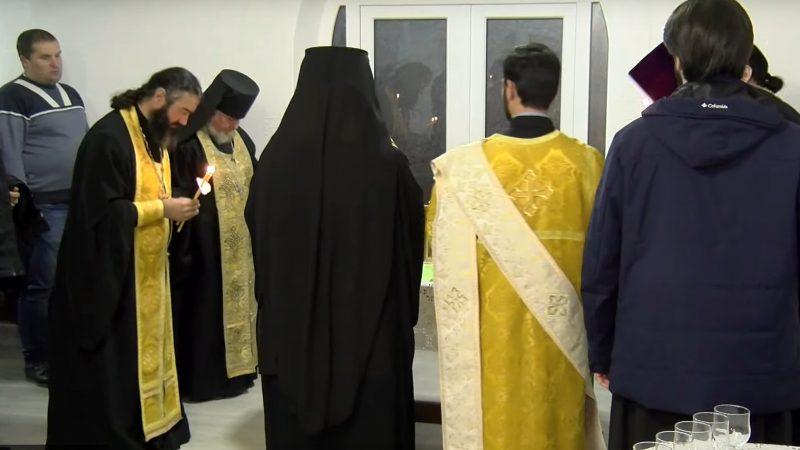 (ВИДЕО) Репортаж НТВ о том как проходило освящение приходского дома при кафедральном соборе мун. Комрат