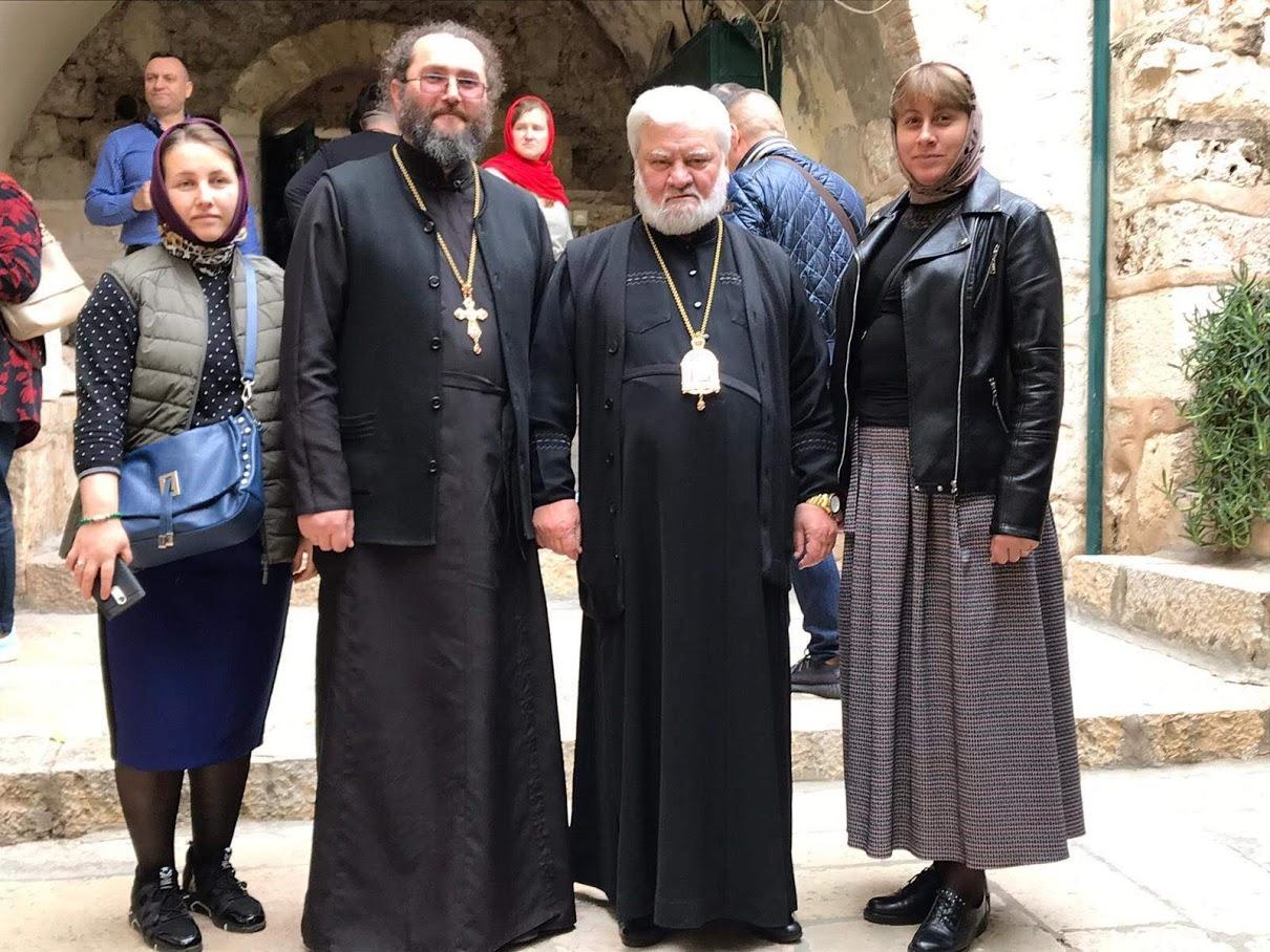(ФОТО) Епископ Анатолий совершил паломничество в Иерусалим вместе со всей паломнической делегацией