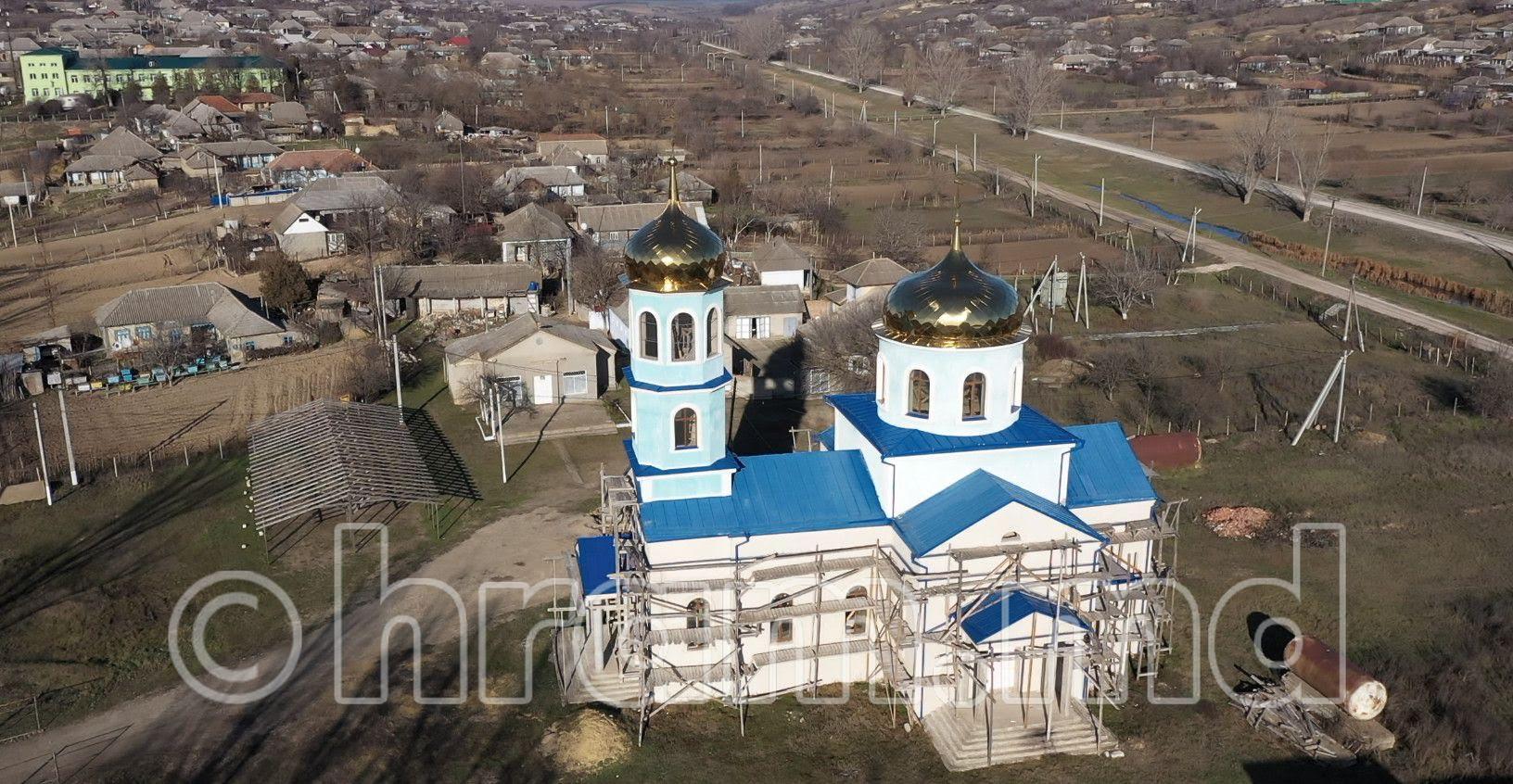 (ВИДЕО) Успенский храм с. Чишмикиой съемка с дрона