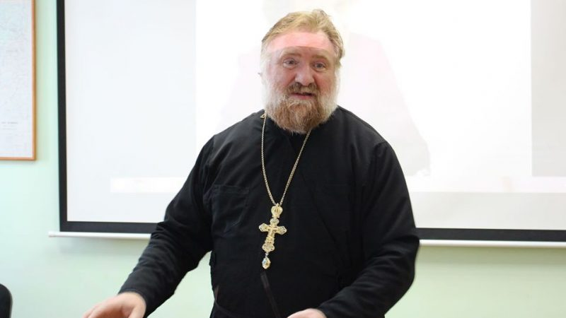 (ФОТО) Прот. Димитрий Киорогло принял участие в конференции в КГУ