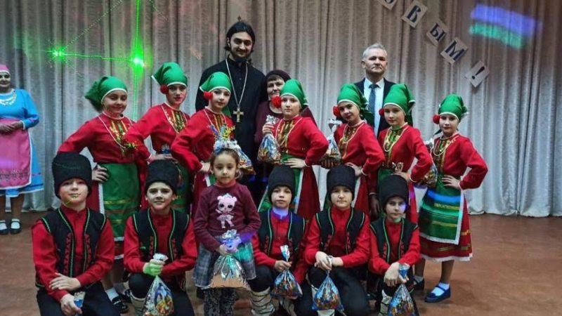 (ФОТО) В селе Томай состоялся Рождественский концерт