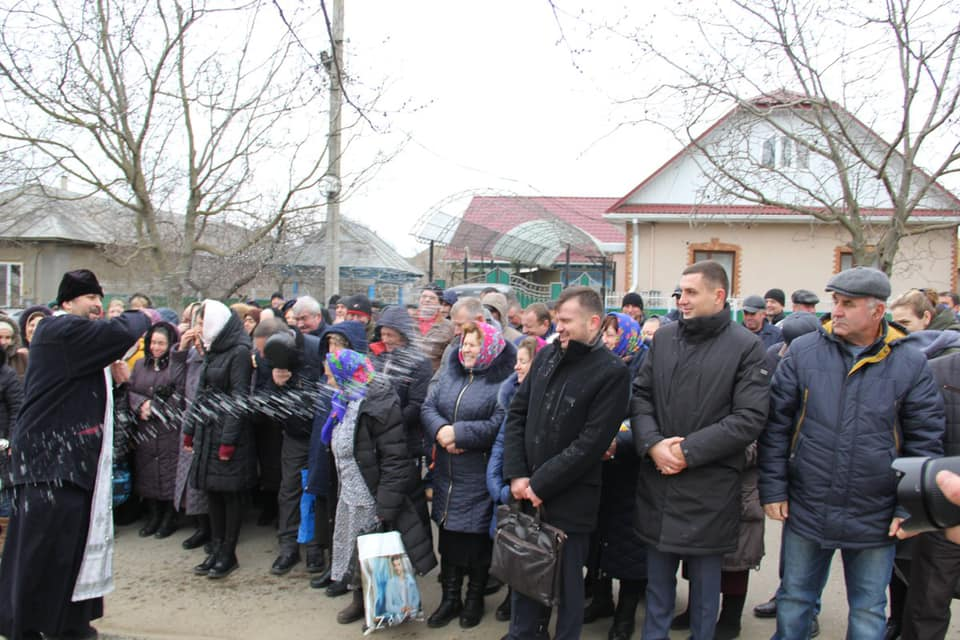 (ФОТО) В Копчаке освятили бювет питьевой воды