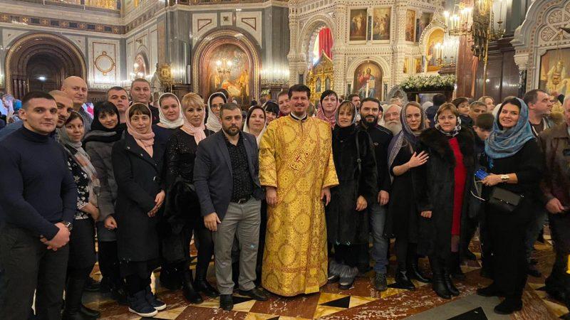 Уроженцы Гагаузии в Рождественскую ночь молились в соборе РПЦ