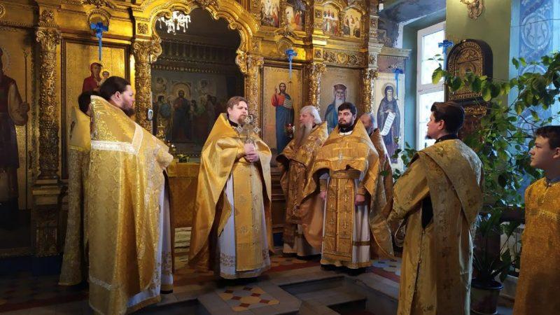 (ФОТО) Литургия с участием гагаузов прошла в с. Раменки Московской области