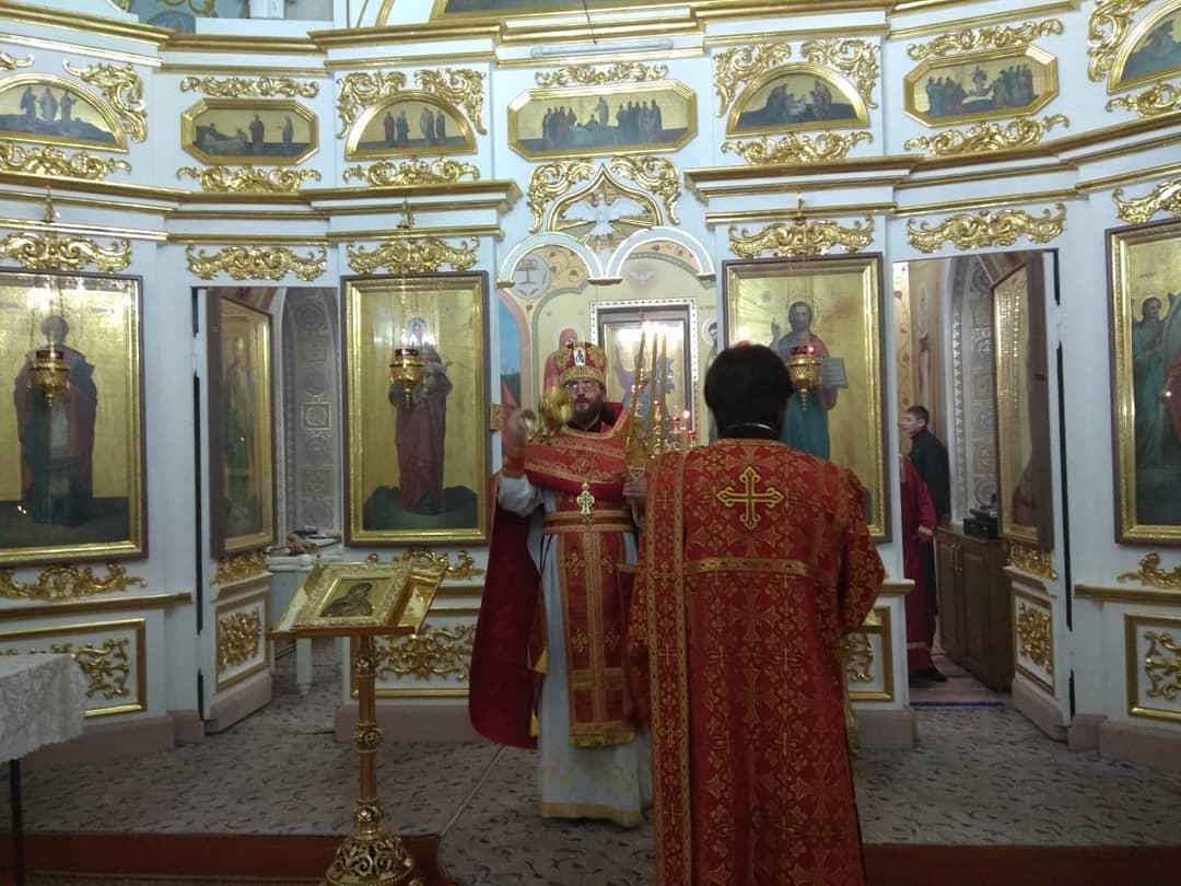 (ФОТО) Пасхальное богослужение в храме села Авдарма