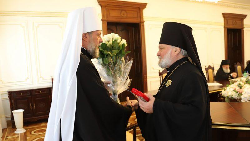 Епископ Анатолий награжден орденом «Св. Гавриила Бэнулеску-Бодони»