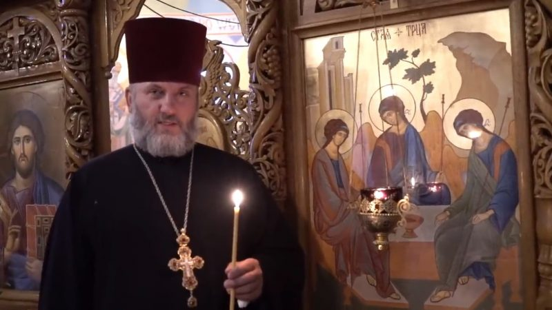 (ВИДЕО) Прот. Иоанн Лисниченко поздравил с престольным праздником жителей с. Конгаз