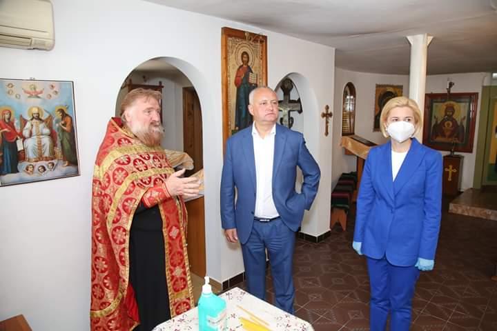 Президент РМ и башкан Гагаузии посетили Свято-Пантелеимоновский храм в мун. Чадыр-Лунга