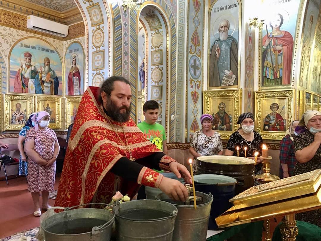 (ФОТО) Происхождение Честных Древ Животворящего Креста Господня в храме Авдармы