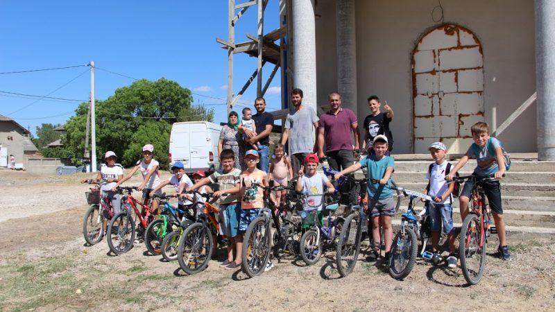 (ФОТО) В Чишмикиое прошел велопробег посвященный храмовому празднику